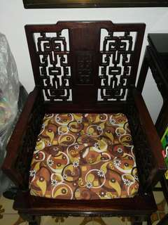Lihua wood chairs and table