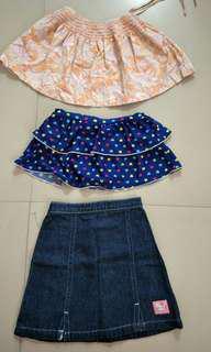 Branded Preloved Girls Skirt