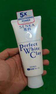 Senka perfect white clay 120gram
