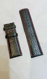 26mm真皮錶帶