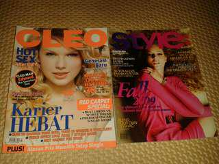 Majalah Cleo dan Style
