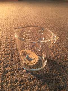 Espresso shot measuring jug 60ml