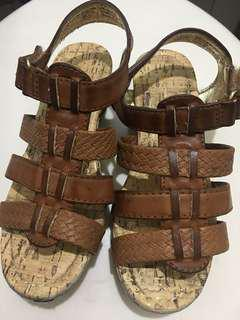 American eagle girls wedge sandals