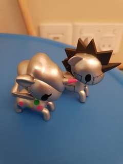 🚚 Tokidoki metallic sundae spots sunday metallo pair couple