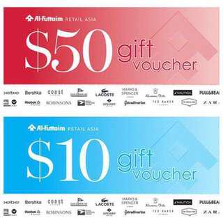 Robinson vouchers Want to buy