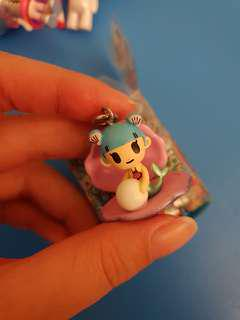 🚚 Tokidoki mermaid pearl sea punk frenzies key chain