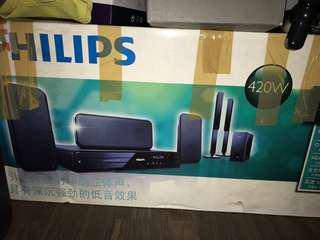 Philips Home Theatre System at blessing price