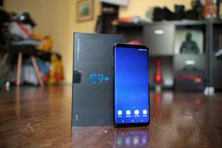 Samsung S9+ 64gb (Coral Blue)