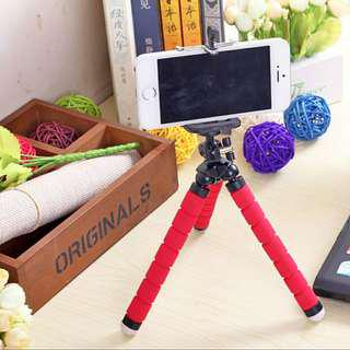 [ High Positive Rating ] < Bracket Included > Portable Octopus Tripod Bracket Stand For Mobile Phone Camera Photography Photo GoPro Hero Action Camera Flexible Tripod Flexible Octopus Tripod Bracket Holder Foam Tripod [V0002_94]