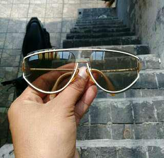 Rodenstock LADY LINE Sunglasses Gold Plated Germany AUTHENTIC Hectic