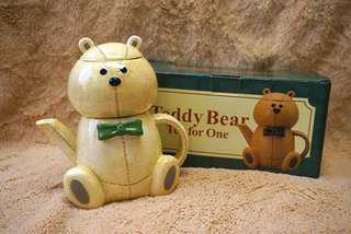 熊仔造型茶壺連茶杯套裝