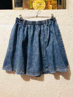 Denim Skirt, Maong Skirt