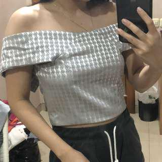 Cropped Party Top