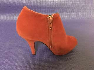 Red Stiletto Boots