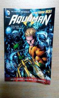 DC comics Aquaman New52 TPB Vol 1