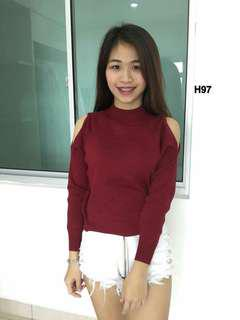 Knitted Long Sleeve Top #50under