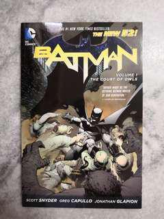 DC comics Batman New 52 TPB Vol 1