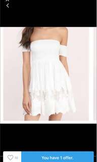 Tobi embroidered lace dress