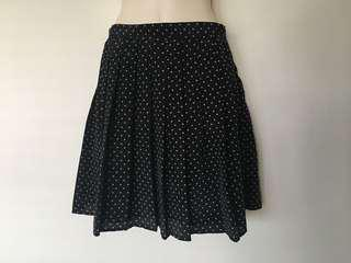 Princess highway polka dot skirt size 10