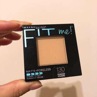 🚚 Maybelline Fit Me粉餅#130