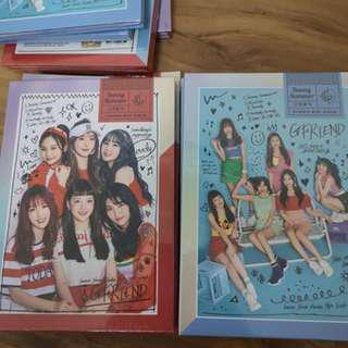 Gfriend Summer Mini Album [Sunny Summer] Ready Stock