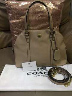 Coach bag Pl cora domed stcl vgc