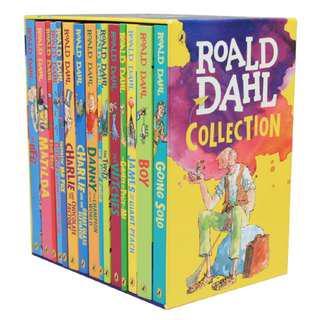 🚚 Roald Dahl Collection (15 Fantastic Stories)