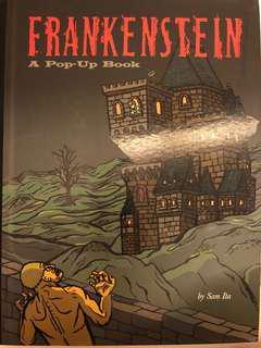 Frankenstein Pop Up Book