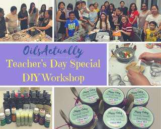 Healthy Lifestyle DIY - Teacher's Day Special Class