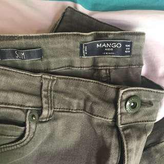 Auth Mango skinny jeans