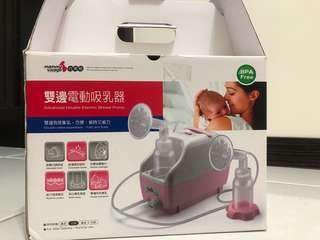 六甲村雙邊電動吸乳器(9成新)