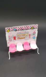 粉紅色座椅型相架