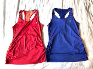 New balance running tanks (size s)