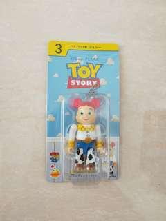 Medicom toy disney 迪士尼 toystory 反斗奇兵 bearbrick 翠絲 100% be@rbrick