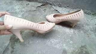 Details heels pink soft UK 39