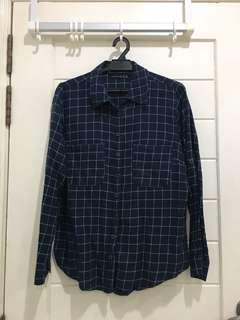 Womens Checkered Shirt fit size L
