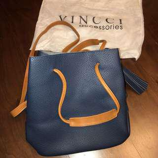 🚚 馬來西亞🇲🇾VINCCI accessories 包 藍