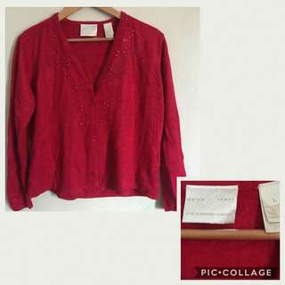 Sale! Red Sweater