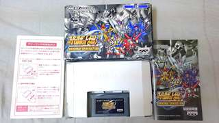 Original GBA Game~ Super Robot Wars Original Generation ( Japanese Version). 100% WORKING GAME!!!. 100% ORIGINAL GBA GAME!!!. 60% BOX CONDITION!!!. ** PLEASE REPLY IN ENGLISH!!! 🤗 **