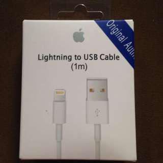 Authentic Apple Lightning Cable 1M