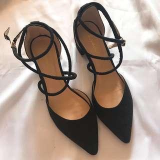 🈹大平賣包郵 Sexy Black Heels