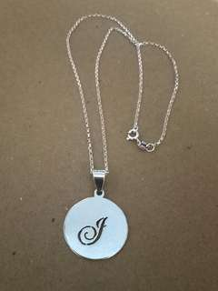 Customized Initial necklace