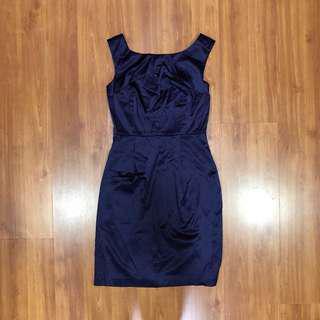 Dark Blue Formal Dress
