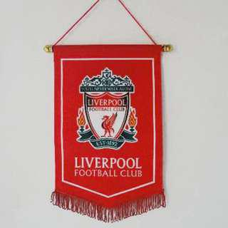 🚚 Liverpool football flag / banner for Liverpool supporters!  Brand new in plastic! Great for birthday present or surprised gift for your love ones
