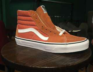 VANS SK8-HI AUTUMN GLAZE & TRUE WHITE