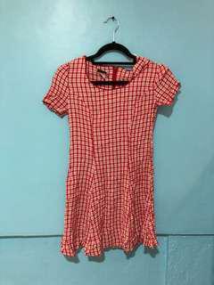 Checkerd Dress