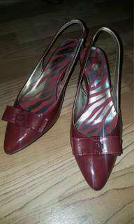 Anne Klein Akrexana Leather Heels