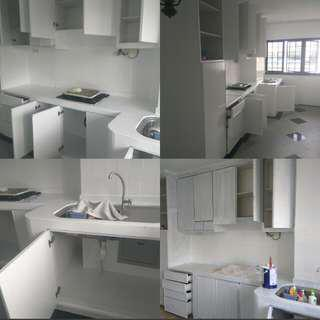 Polyuretane epoxy paint kitchen cabinets,toilet tiles,kitchen tiles,momento paint,house painting etc.