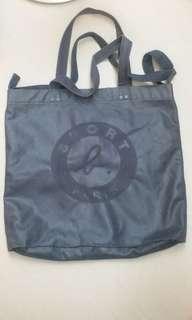 Agnes B Sport  Bag Cotton causal bag 綿質休閒袋 書包