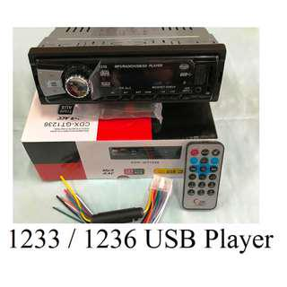 1233/1236 USB Player
